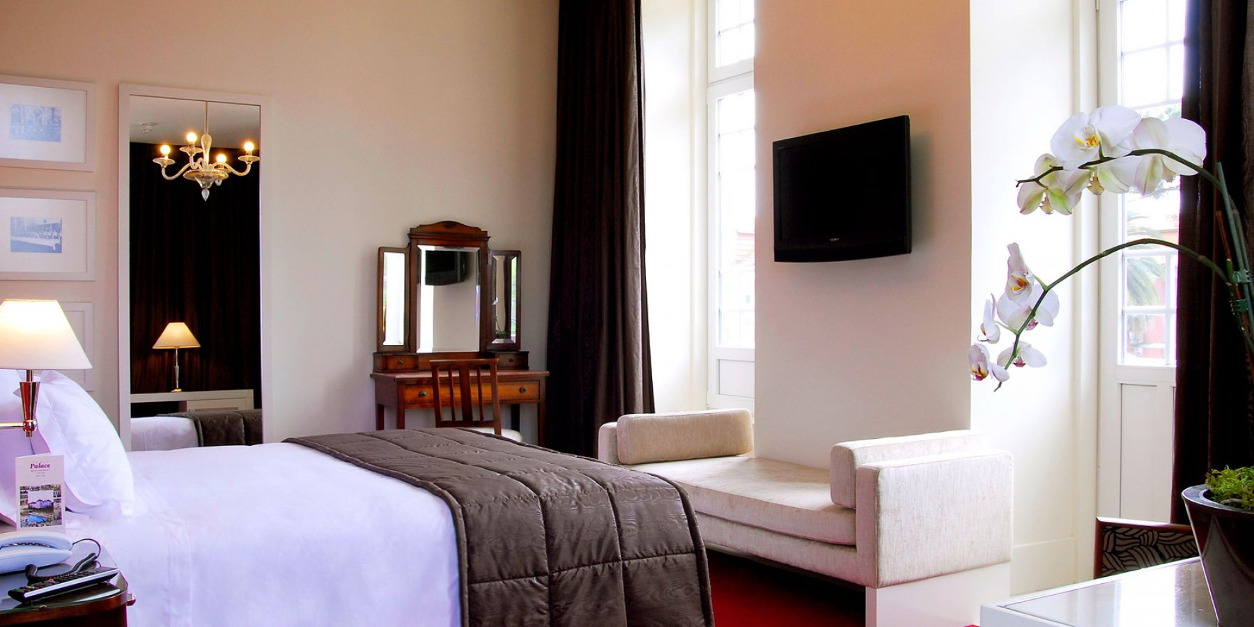 Rooms - Curia Palace Hotel ****